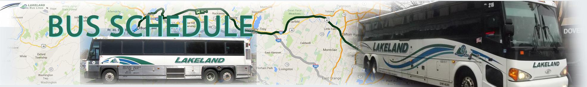 Bus Schedules – Lakeland Bus Lines Inc